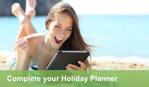 Complete your Holiday Planner